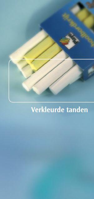 Informatiefolder Ivoren Kruis Verkleurde tanden